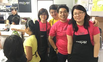 2017 Singapore Children Society Baking Class
