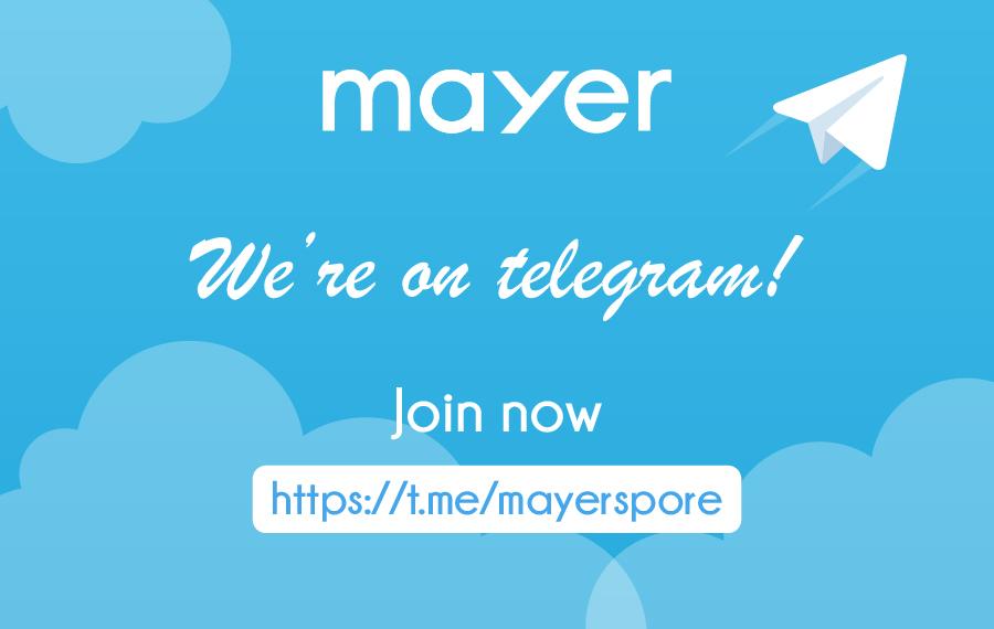 We're on Telegram!