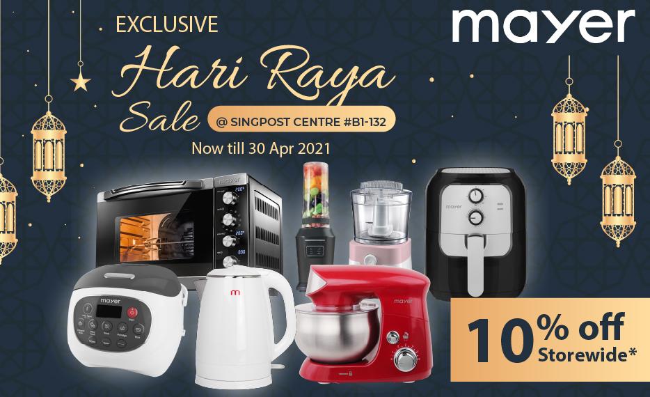 SingPost Showroom Exclusive Hari Raya Sale!