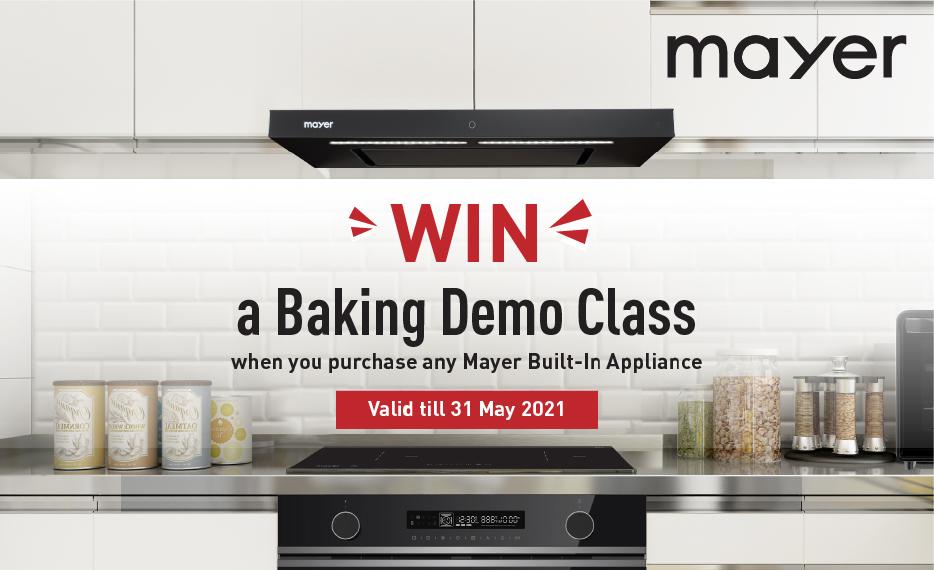 Win a Baking Demo Class!