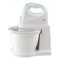 Hand Mixer with Rotary Bowl-Mint