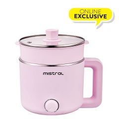 1.5L Multi-pot with Steam Tray-Pink