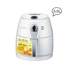 3.5 L Air Fryer-White Silver