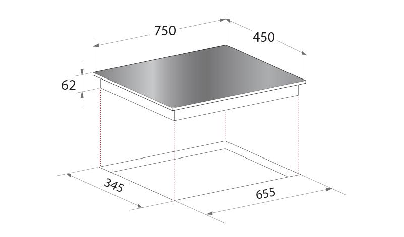 Installation Diagram for Mayer MM75IH